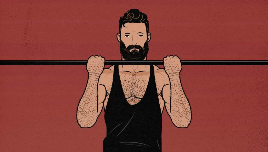 How to do the chin-up to best gain upper back and biceps muscle size