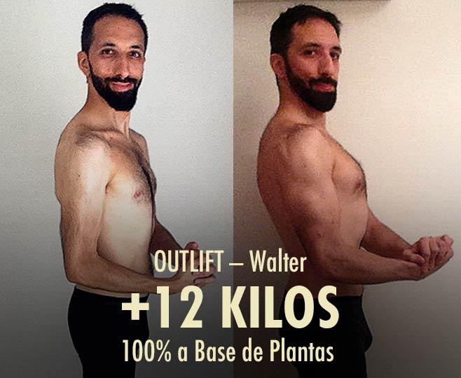 Cambio físico, delgado a musculoso, del antes y después de levantar pesas.